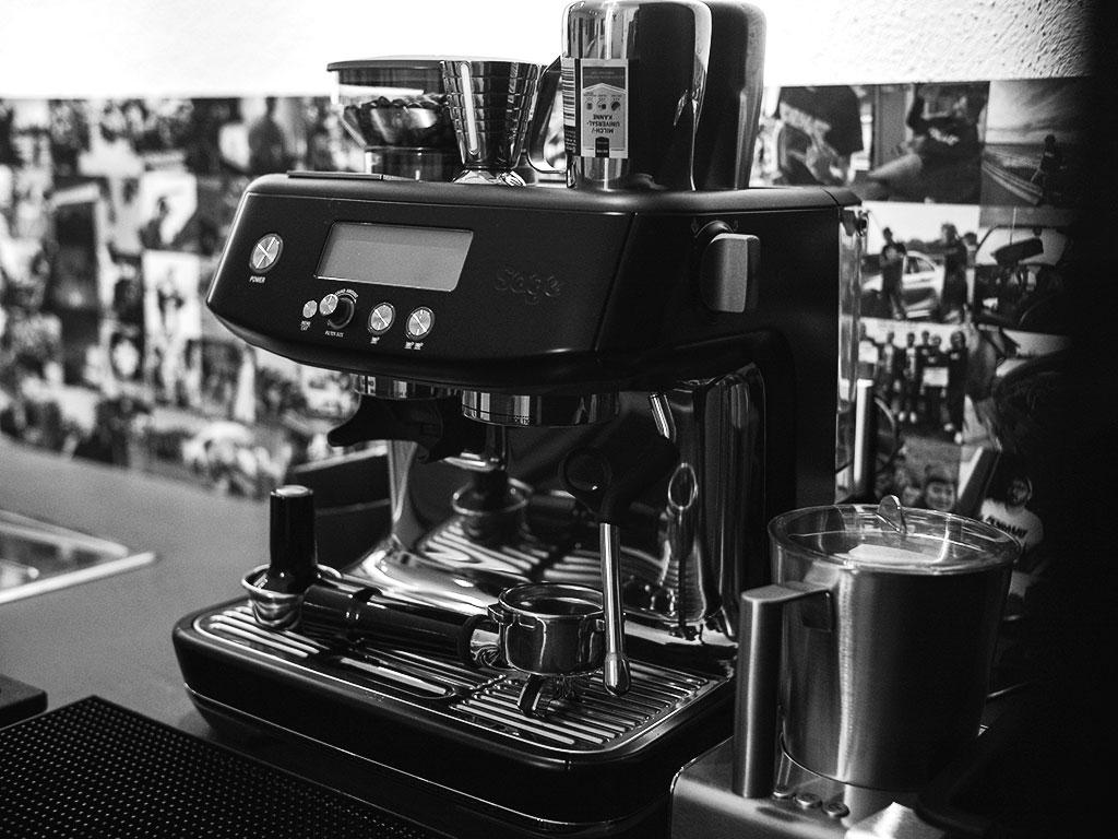 Fotostudio & Eventlocation-Espresso-Maschine-Machine