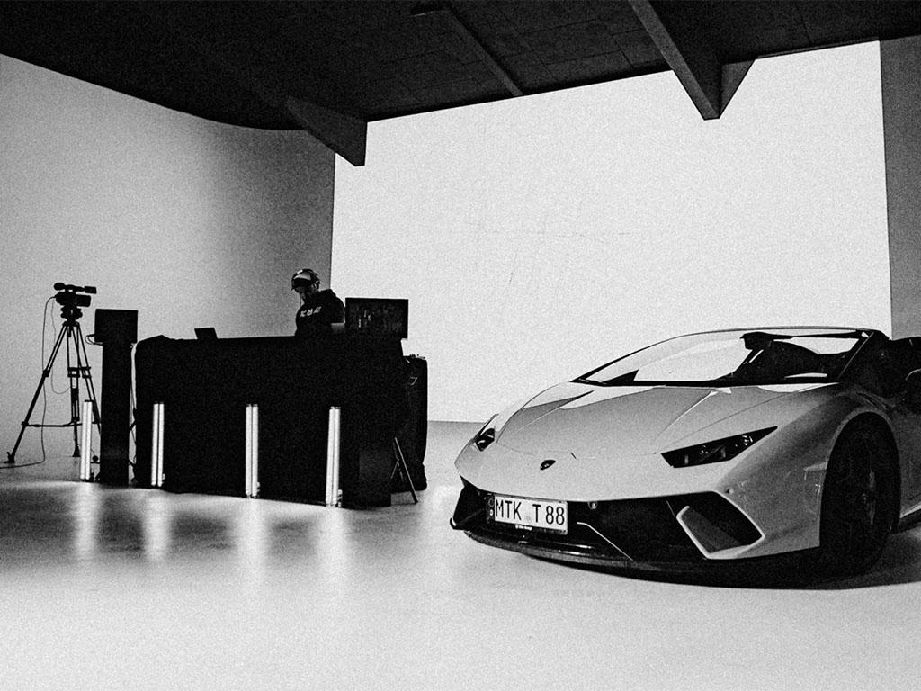 Fotostudio & Eventlocation-Livestream-Lamborghini