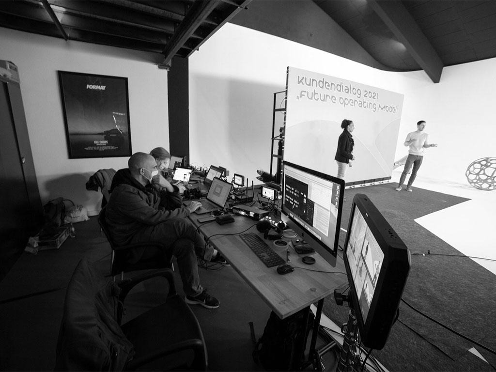 Fotostudio & Eventlocation-Client-Livestream